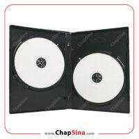 قاب دی وی دی ۱۴ میل دوبل مشکی - مجموعه چاپ سینا