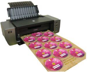 دستگاه بزرگ چاپ تصویر روی سی دی - مجموعه چاپ سینا