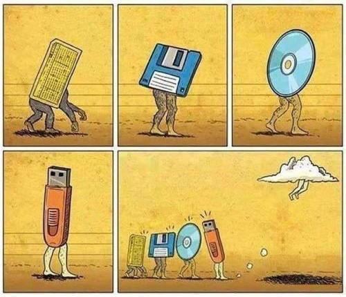 سیر تکامل حافظه های ذخیره سازی